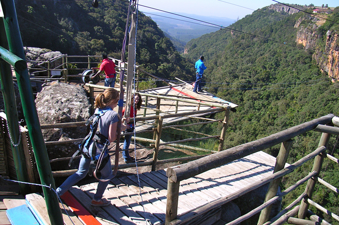 Graskop Gorge Big Swing